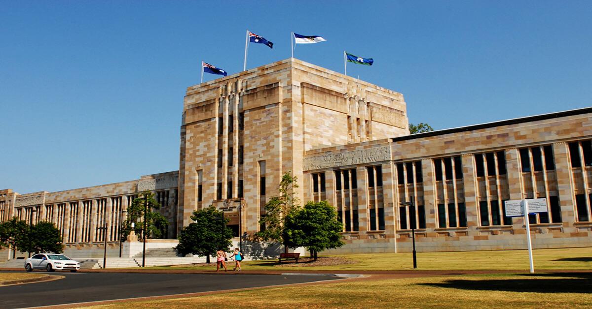Một góc Đại học Queensland