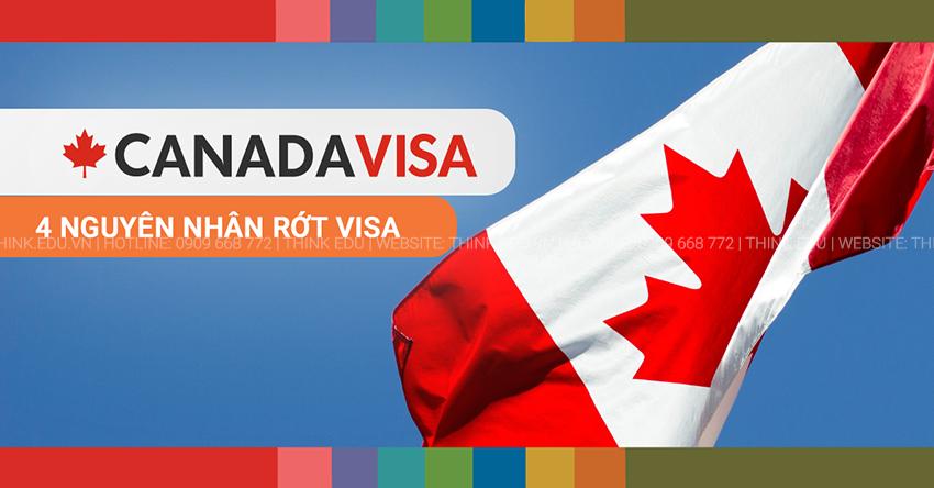 Rớt visa du học Canada – 4 nguyên nhân học sinh hay gặp phải
